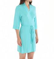 Josie by Natori Sleepwear Femme Solid Modal Jersey Wrap X94290