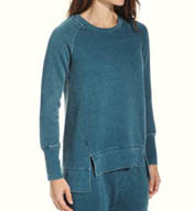 Josie by Natori Sleepwear Josie Sweatshirt Fleece Popover X95200