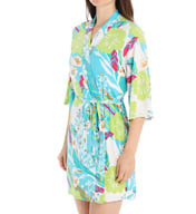 Josie by Natori Sleepwear Fleur Printed Wrap Y94001