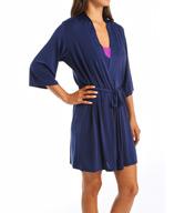Josie by Natori Sleepwear Slinky Basics Solid Wrap Y94028