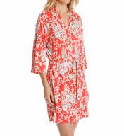 Josie by Natori Sleepwear Camelia Printed Wrap Y94102
