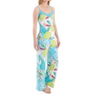 Josie by Natori Sleepwear Fleur Cami Printed Pajama Set Y96001