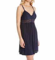 Josie by Natori Sleepwear Nora Modal Chemise with Lace Y98113