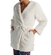 Josie by Natori Sleepwear Shaggy Reversible Wrap Z94059
