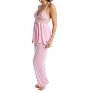 Josie by Natori Sleepwear Tile Lily Racerback Pajama Set Z96005