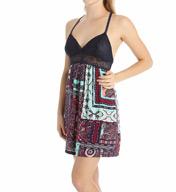 Josie by Natori Sleepwear Dynasty Scarf Rayon Twill Chemise Z98002