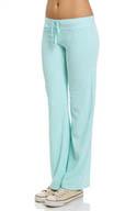 Juicy Couture Terry Basics Original Leg Drawstring Pant JG007731