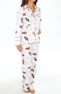 KayAnna Shooozzzee Flannel PJ Set B15175S