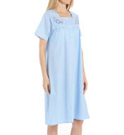 KayAnna Paisley Short Sleeve Nightgown D11390