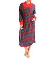 KayAnna Flannel Long Gown F11405