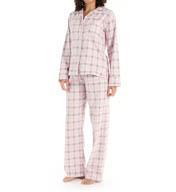 KayAnna Sweet Plaid Flannel PJ Set SP15226