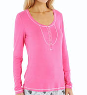 Kensie Fun Times Long Sleeve Top 211623F