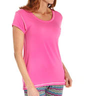 Kensie Bright Night Short Sleeve T-Shirt 2116250
