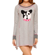 Kensie Cozy Long Sleeve Sleepshirt 2316234