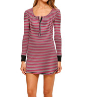 Kensie Chatty Kathy Long Sleeve Sleepshirt 2616281