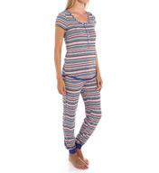Kensie Hootie Short Sleeve PJ Set 2916280