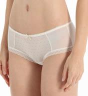 Kensie Maya Glitter Mesh Boyshort Panty 6113553