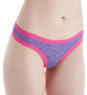 Kensie Lacy Mattie Lace Thong 6413567