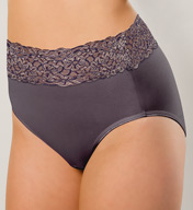 Knock out! Smart Panties Lacey Full Coverage Brief Panty KO-1300