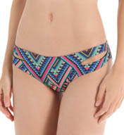 L Space Antigua Black Estella Full Swim Bottom AB32F15