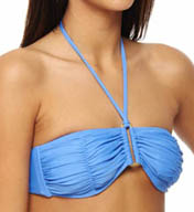 L Space City Tribe Mixers Pucker Up Swim Top MX60T13