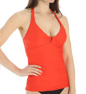 La Blanca Power Play Halter Underwire Tankini Swim Top LB5K384
