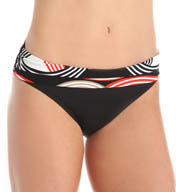 La Blanca Road Trip Shirred Band Hipster Swim Bottom LB5KX95