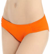 La Blanca Core Solid Forever Young Ruched Back Swim Bottom LB5R097