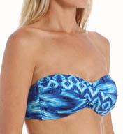 La Blanca Desert Mirage Convertible Bandeau Bra Swim Top LB5R181