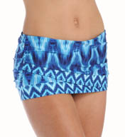 La Blanca Desert Mirage Tulip Skirted Hipster Swim Bottom LB5R192