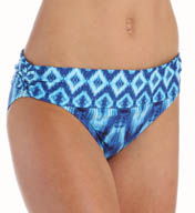 La Blanca Desert Mirage Shirred Band Hipster Swim Bottom LB5R195