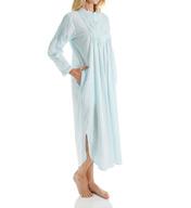 La Cera Long Sleeve Cotton Nightgown 1060G