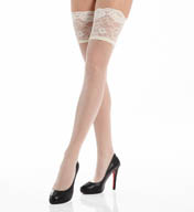 La Perla Calze Lycra Thigh High with Lace Band 11745