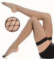 La Perla Calze Rete Fishnet Thigh Highs 18504