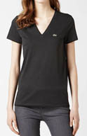 Lacoste Short Sleeve Jersey V-Neck T-Shirt TF1081