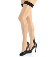 L'Agent by Agent Provocateur Back Seam Thigh High Hosiery LH00-85