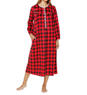 Lanz of Salzburg Long Microfleece Gown 5216815