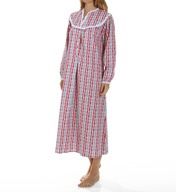 Lanz of Salzburg Long Flannel Gown 5416803