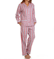 Lanz of Salzburg Cotton Flannel Pajama Set 5716803