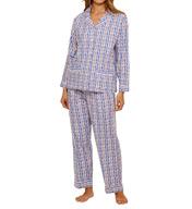 Lanz of Salzburg Flannel Pajama Set 5716814