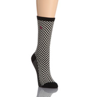 Lauren Ralph Lauren Chevron Herringbone Trouser Socks 331014