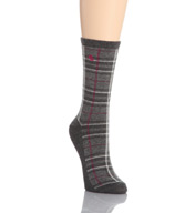Lauren Ralph Lauren Straight Plaid Trouser Socks 331026
