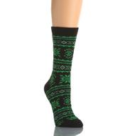 Lauren Ralph Lauren Angora Snowflake Fairisle Boot Sock 331102