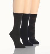 Lauren Ralph Lauren Argyle Trouser Sock - 3 Pack 34015PK