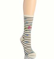 Lauren Ralph Lauren Floral Stripe Trouser Sock 34112