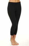 Lauren Ralph Lauren Ruched Capri Legging 5662
