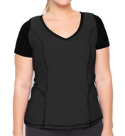 Lola Getts Lola V Neck Tee Plus Size MY102X