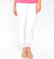 Lysse Leggings Embroidered Crop 1295