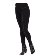 Lysse Leggings Faux Leather Insert Legging 1332