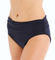 MagicSuit Jersey Brief With Shirring Swim Bottom 453659